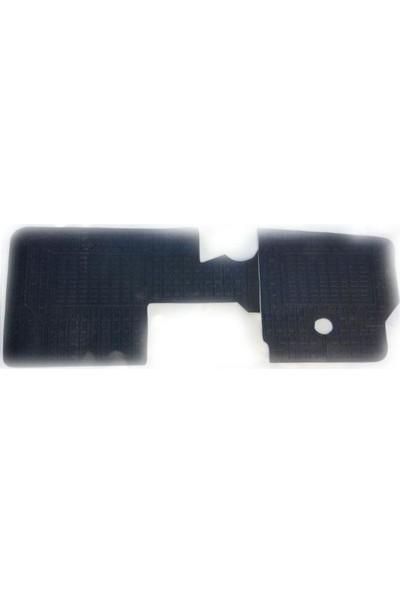 Tvet Hyundai H100 Bongo K2500 Kamyonet Siyah Kauçuk Paspas 2 Parça