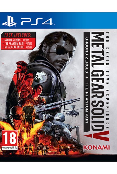 Metal Gear Solid V The Definitive Edition PS4