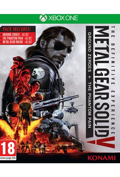 Metal Gear Solid V The Definitive Xbox One