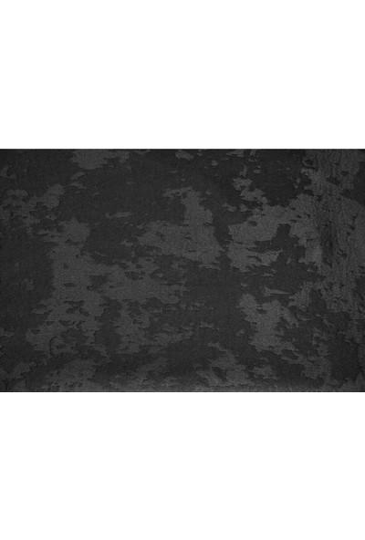 Gravel Fon Perde -Siyah