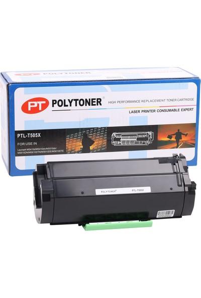 Polytoner Lexmark (T505X) Toner Ms410/Ms510/Ms610/Ms610Dtn/Ms610 (10000 Sayfa)