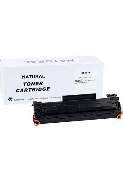 Natural Hp Cf283X Toner (M125/M127/M201/M225) (2200 Sayfa)
