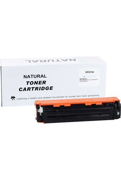 Natural Hp Cf211A(131A) Mavi Toner Pro200Colormfpm276N/M276Nw/M251N