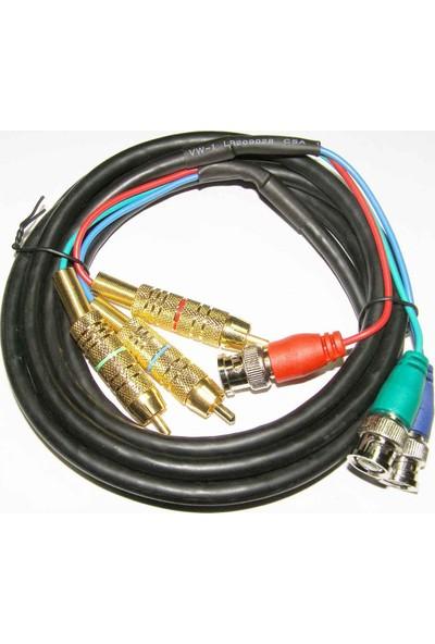 Heı Bnc-Rgb Kablo