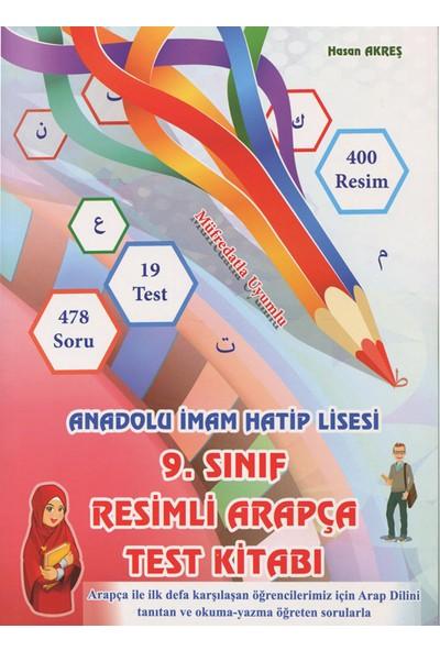Kitap Kalbi Yayınevi 9. Sınıf Renkli Resimli Arapça Test Kitabı