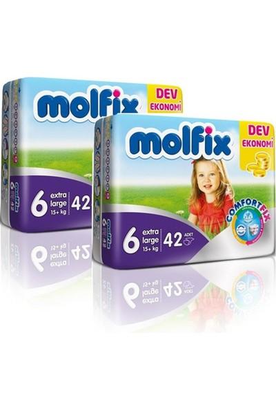 Molfix Bebek Bezi Comfort Fix Dev Ekonomi 6 Beden 80 Adet