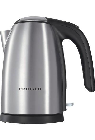 Profilo Sı7630 Emniyetli Çelik Kettle Su Isıtıcı