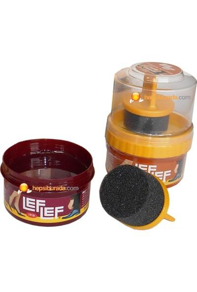 Nuri Leflef Krem Ayakkabı Boyası Cilalı 60 ml Siyah