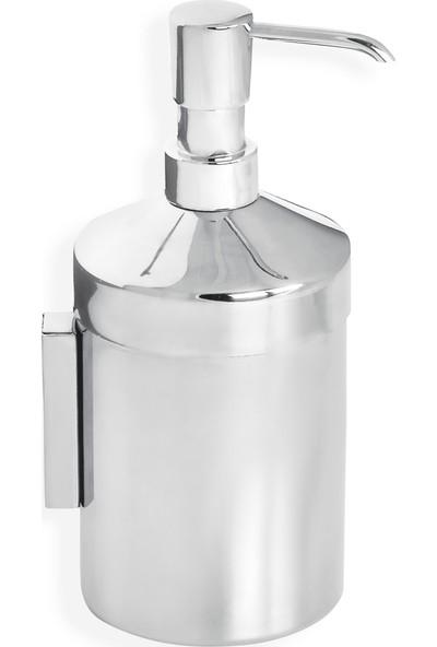Çelik Banyo Krom Sıvı Sabunluk Montajlı
