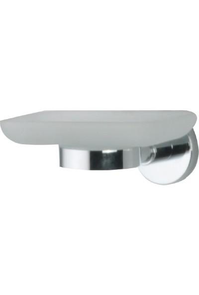 Çelik Banyo Saray Sabunluk Krom