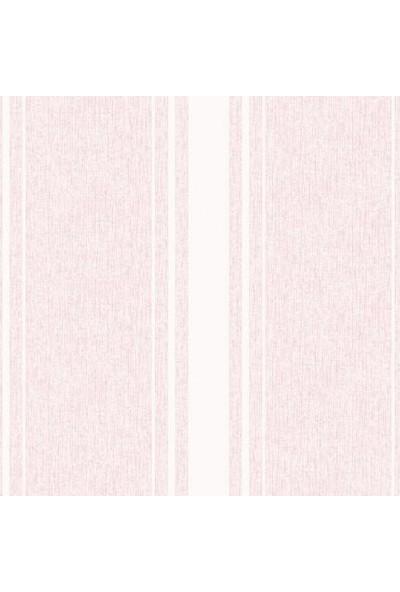Düz Bej Çizgili Kabartma Desenli Duvar Kağıdı 14836