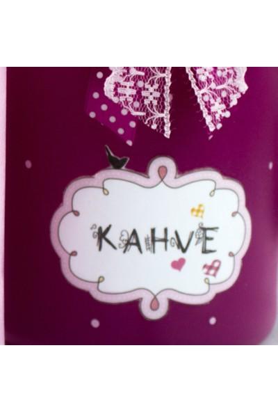 Pink Clouds Fuşya-Pembe Cam Kavanoz Seti 1.5 lt.