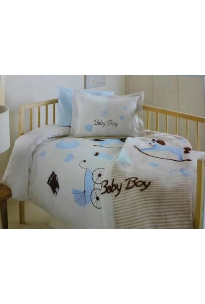 Özdilek Baby Boy Battanıyeli Bebek Nevresim Takımı