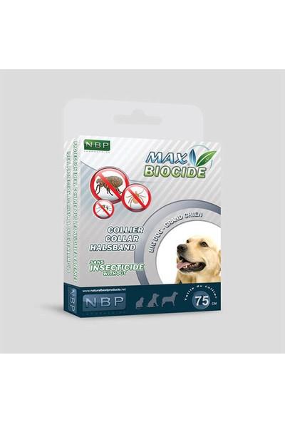 Max Biocide Collier Collar Halsband Köpekler İçin Bitkisel Dış Parazit Tasması 60Cm