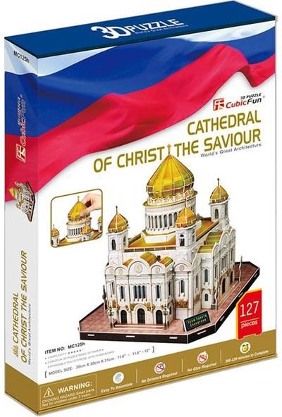 Cubic Fun 3D Puzzle 127 Parça Christ The Saviour Katedrali - Rusya