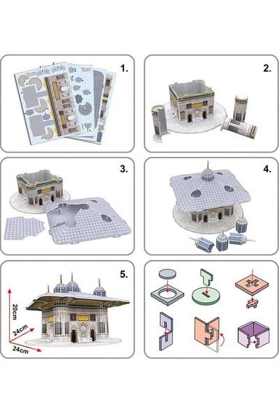 Cubic Fun 3D 73 Parça Puzzle Iıı. Ahmet Çeşmesi