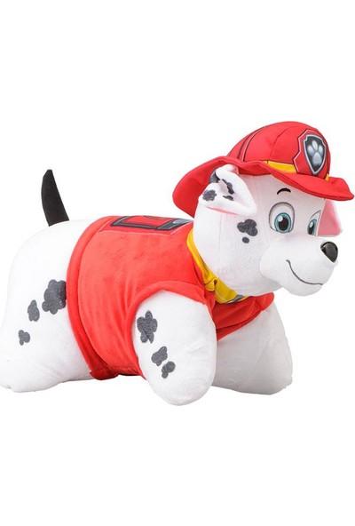 Pillow Pets Paw Patrol Peluş Oyuncak Marshall Yastık 28 Cm