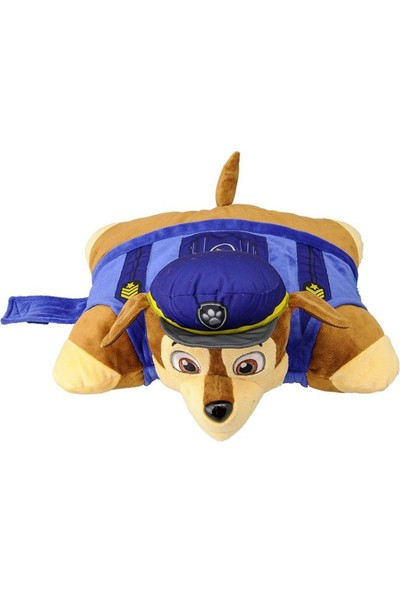 Pillow Pets Paw Patrol Chase Peluş Oyuncak Yastık 40 Cm