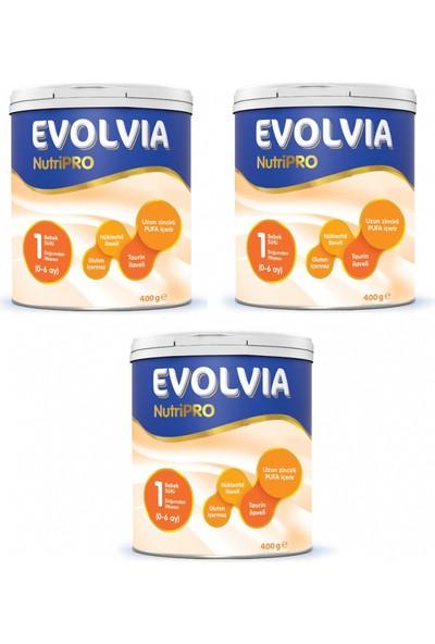 Evolvia NutriPRO 1 Bebek Sütü 400 gr - 3'lü
