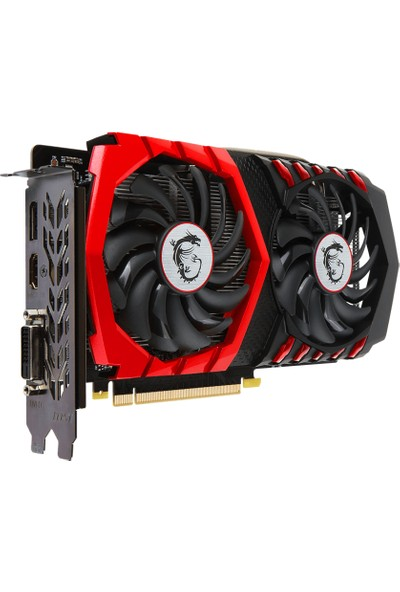 MSI NVIDIA GeForce GTX 1050 Gaming X 2G 2GB 128 bit GDDR5 DX(12) PCI-E 3.0 Ekran Kartı (GTX 1050 Gaming X 2G)