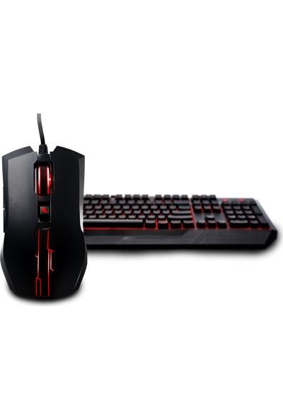 Cooler Master Devastator II Kırmızı LED Türkçe Klavye + Mouse Seti