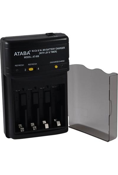 Ataba At-908 800 Mah Ultra Hızlı Deşarj Şarj Cihazı