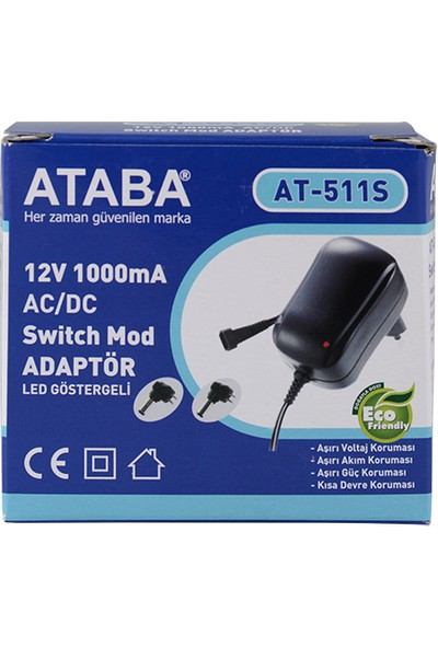 Ataba At-511S Switch Mode Adaptör