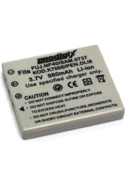Prodigix Fuji Np40 Kamera Bataryası