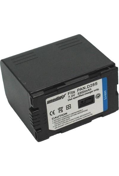 Prodigix Panasonic D28 Kamera Bataryası
