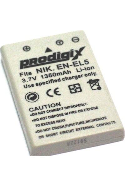 Prodigix Nikon En-El5 Kamera Bataryası