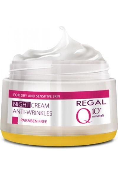 Regal Q10 Kırışıklık Karşıtı Besleyici Gece Kremi 50Ml Kuru Ve Hassas Cilt