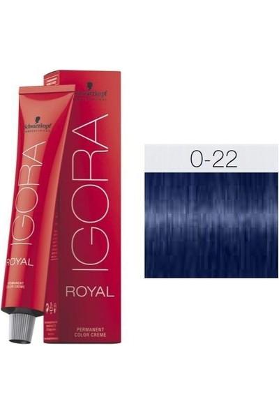Igora Royal 0-22 Turuncu Azaltıcı Saç Boyası