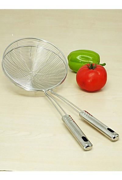 Kitchen Love 2 Adet Paslanmaz-Çelik 16 cm Yağ Kevgiri