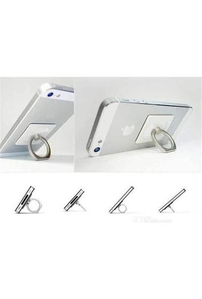 Practika Yüzük Tasarım Telefon Tablet Tutucu + Telefon Askısı