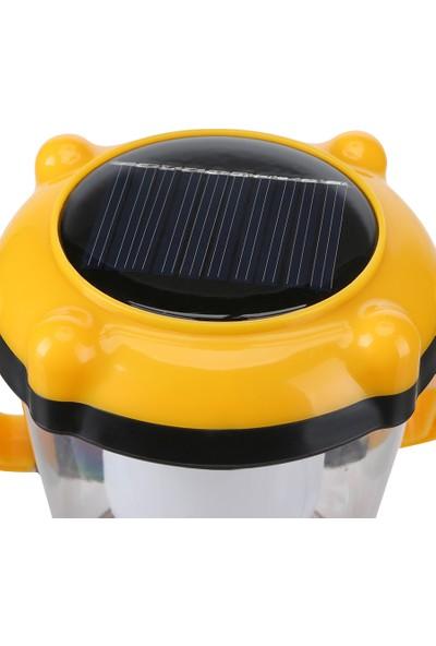 16 Ledli Solar Şarjlı Led Kamp Lambası ASZ.0491