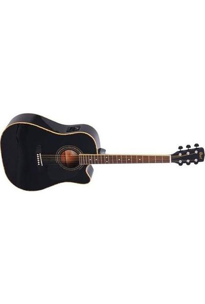 Cort Ad880Cebk Kılıflı Elektro Akustik Gitar