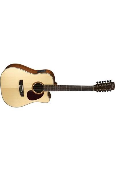 Cort Mr710F12Ns 12 Telli Elektro Akustik Gitar (Fishman)