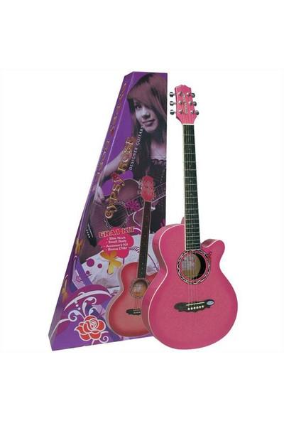 Valencia Gra1Kcpk Akustik Gitar Seti (Gigbag / Askı / Stickers / Dvd)