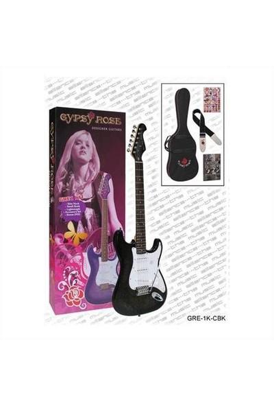 Valencia Gre1Kcbk Elektro Gitar Seti (Askı/Gigbag/Sticker/Dvd)