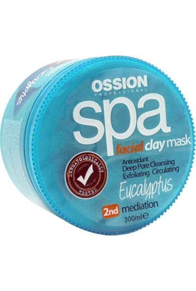 Ossion Yüz Maskesi 300ml. Eucalyptus Özlü   Spa Clay Mask Facial