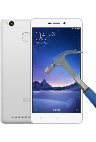 Teleplus Xiaomi Redmi 3S Temperli Cam Ekran Koruyucu Cam Ekran Koruyucu