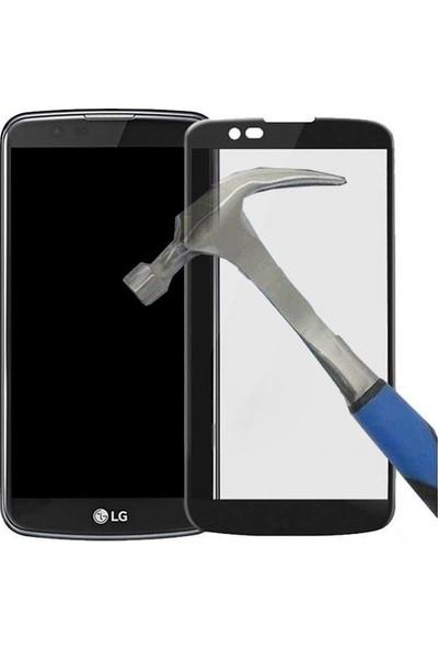 Teleplus Lg K10 3D Full Kapatan Cam Ekran Koruyucu Cam Ekran Koruyucu