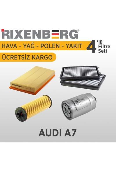 Rixenberg Filters Audi A7 4'Lü Filtre Seti