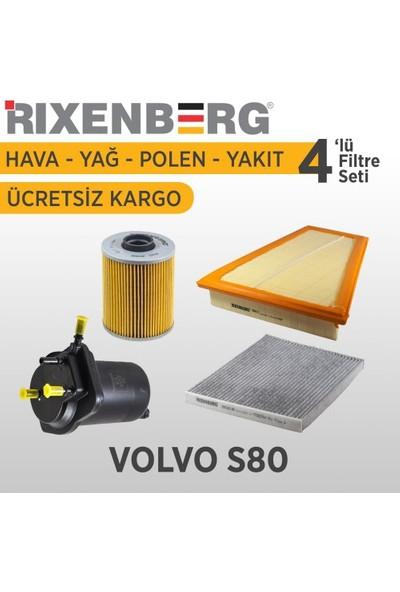 Rixenberg Filters Volvo S80 4'Lü Filtre Seti