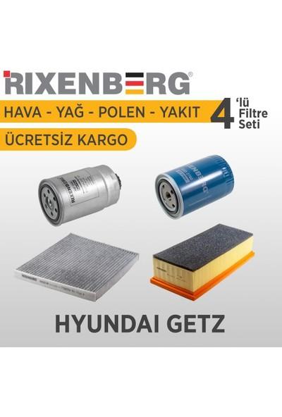 Rixenberg Filters Hyundai Getz 4'Lü Filtre Seti