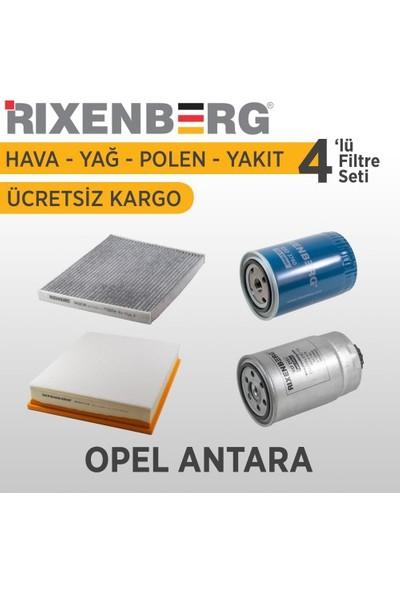 Rixenberg Filters Opel Antara 4'Lü Filtre Seti