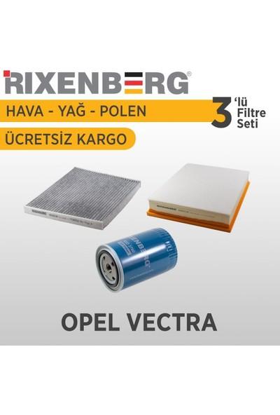 Rixenberg Filters Opel Vectra 3'Lü Filtre Seti