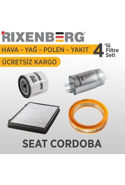 Rixenberg Filters Seat Cordoba 4'Lü Filtre Seti