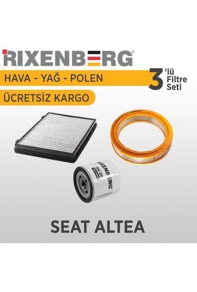 Rixenberg Filters Seat Altea 3'Lü Filtre Seti