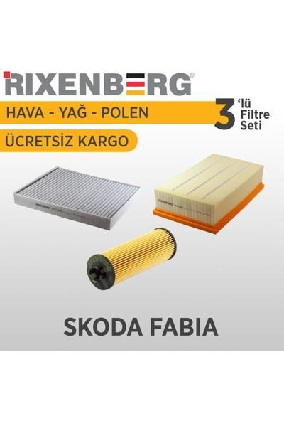 Rixenberg Filters Skoda Fabia 3'Lü Filtre Seti